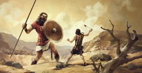 David vs Goliat