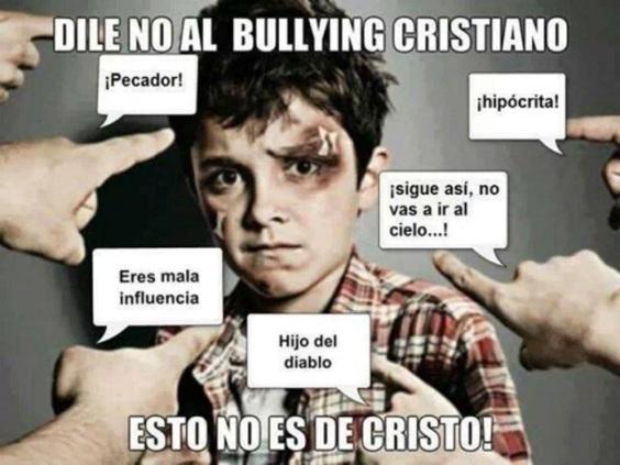 bullying cristiano