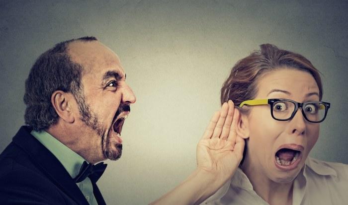 la esposa sorda