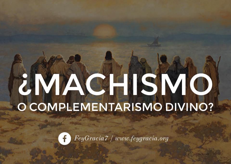 MACHISMO BIBLICO