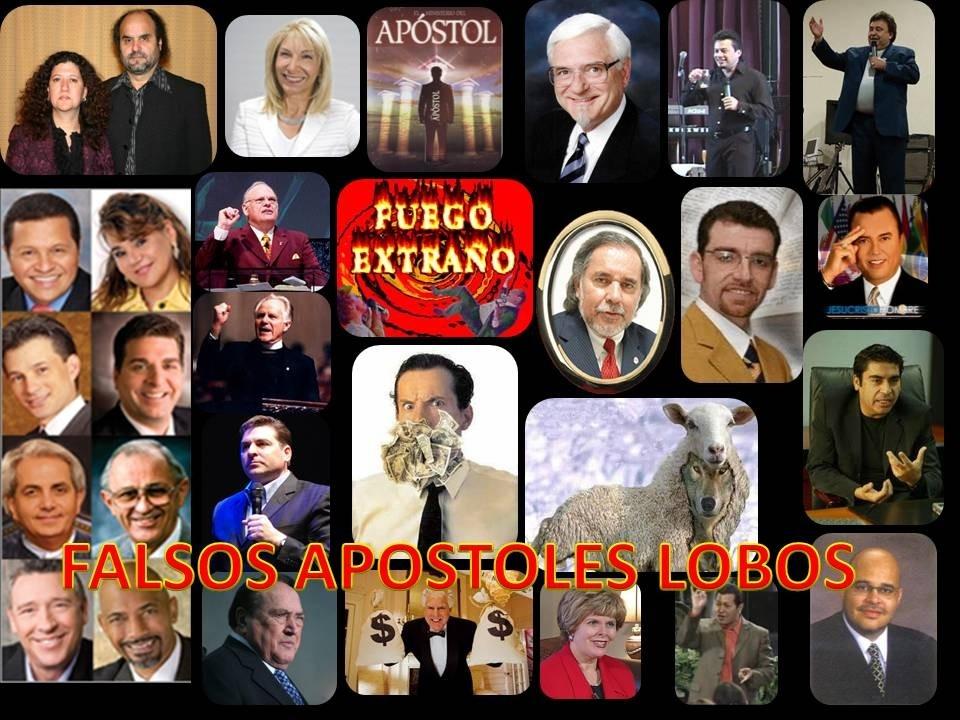 falsos profetas y apostoles