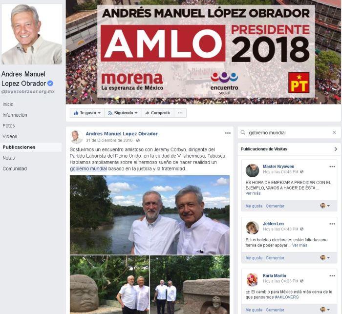 amlo gobierno mundial