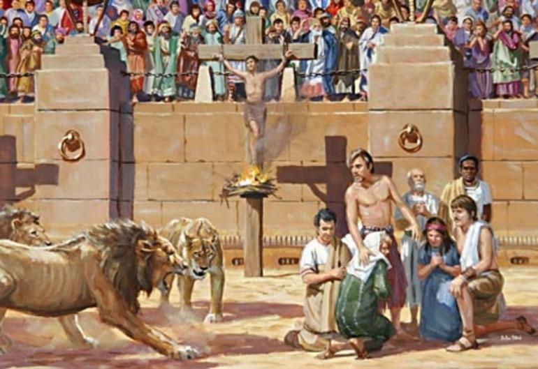 cristianos circo romano