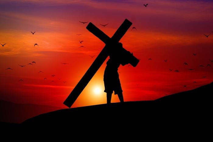 que significa cargar la cruz