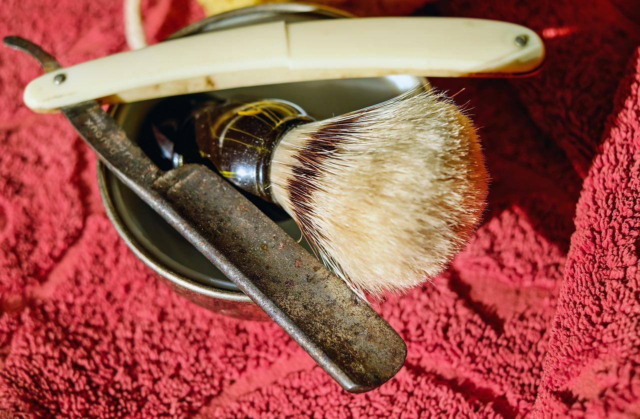 la navaja de afeitar