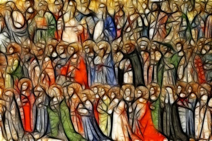 es pecado orar a María y los santos