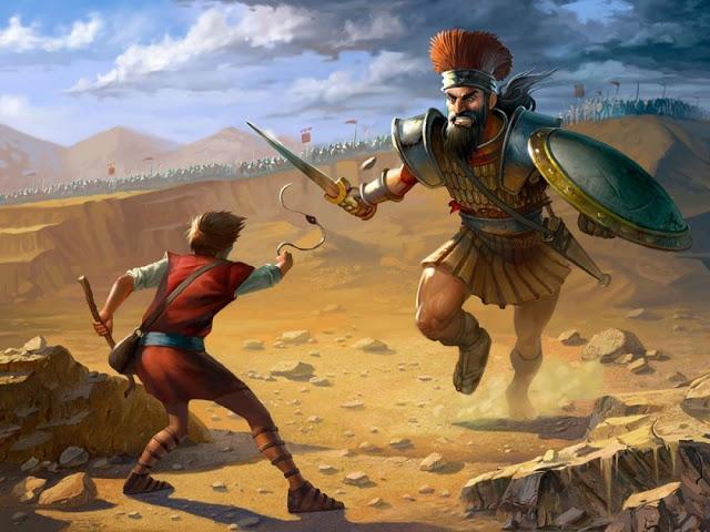 La historia de David y Goliat