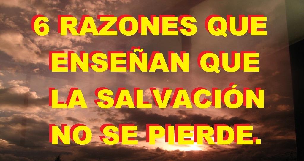 la salvación no se pierde