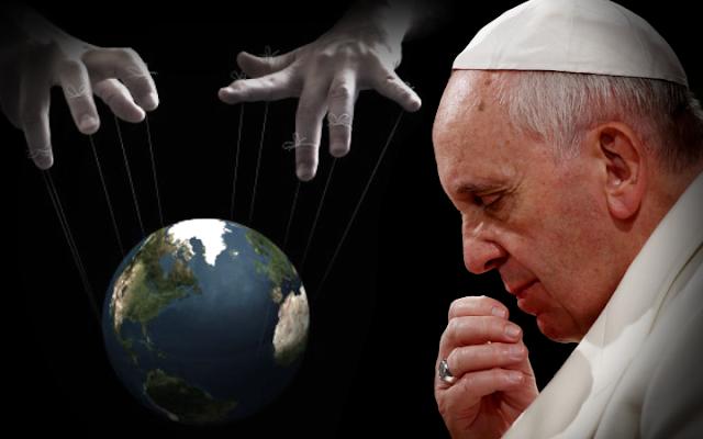 nuevo orden mundial y el papa
