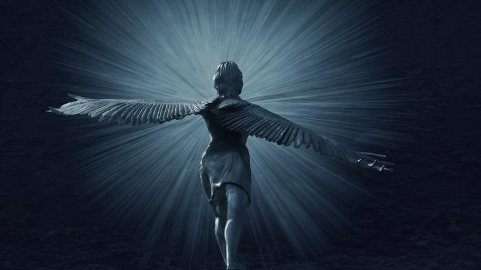 la historia de la iglesia y los ángeles