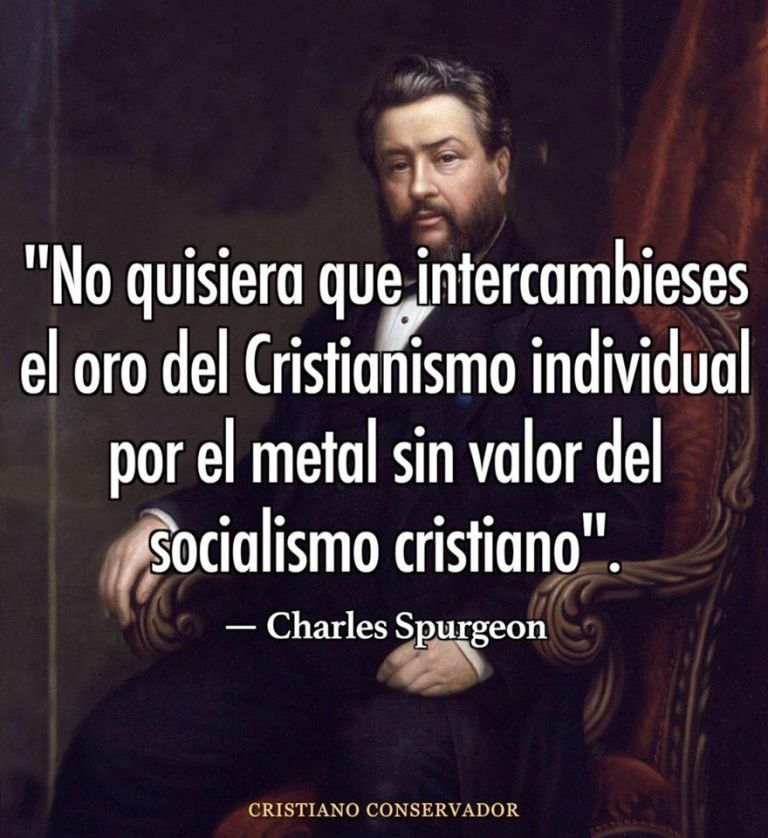 SPURGEON VS SOCIALISMO