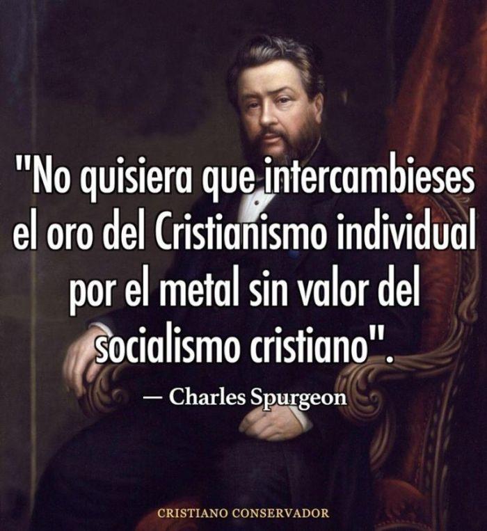 SPURGEON VS SOCIALISMO